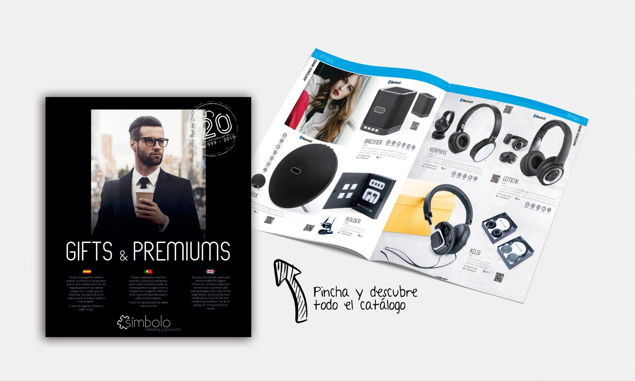 Catálogo de merchanising premium