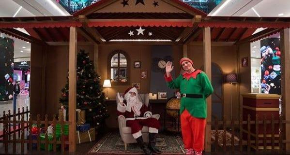 decoración campaña de Navidad
