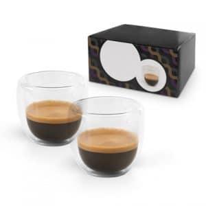 regalos promocionales para invierno: set de café